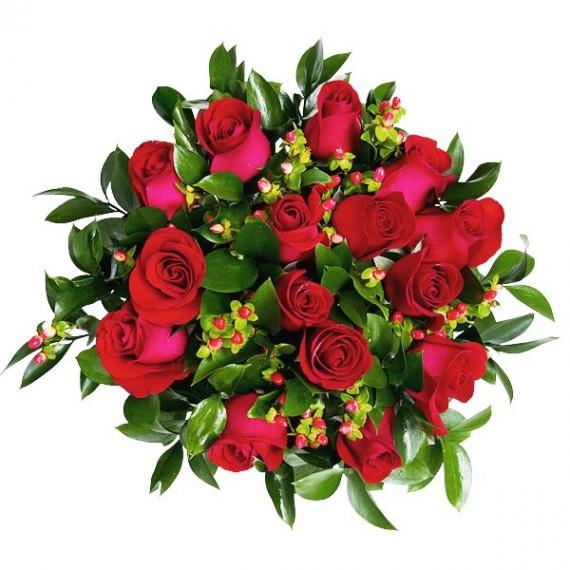 Buquê 20 Rosas  Vermelhas