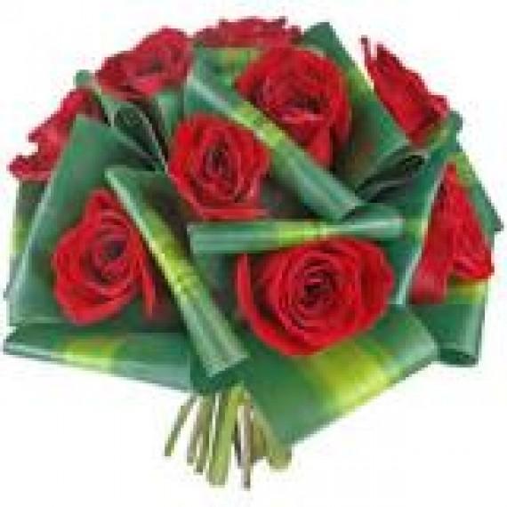 Buquê de Noiva 13 com 40 Rosas