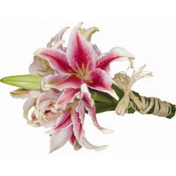 Ramalhete Lirios rosas