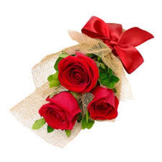 Ramalhete 03 rosas
