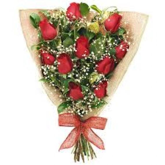 Ramalhete 10 rosas